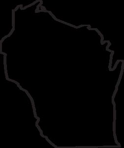 Wisconsin Outline Clip Art at Clker.com.