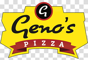 Pizza, Pizza, Logo, Eau Claire, Wisconsin, Yellow, Text.