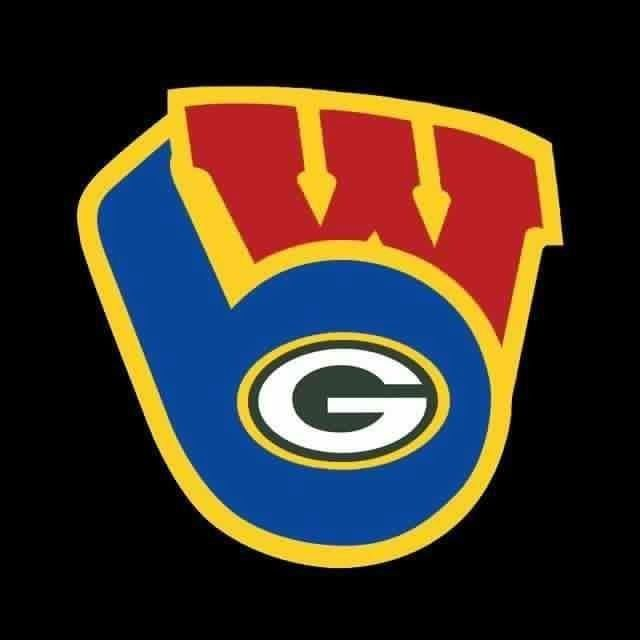 The greatness that is Wisconsin. Brewers, Packers, and.