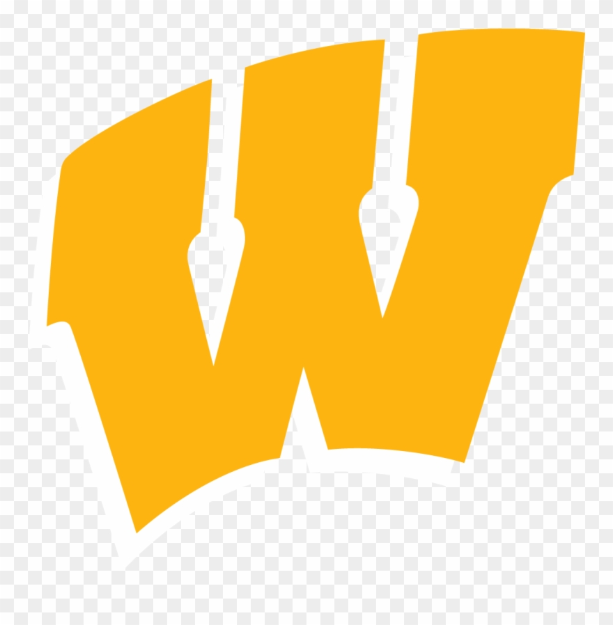 Wisconsin Badgers W Logo Clipart (#165454).