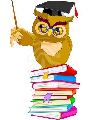 Wisdom Owl Clipart.