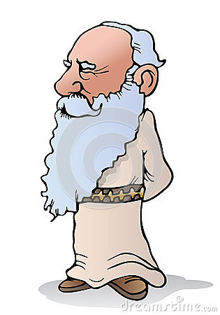 Wise Old Man Clipart.