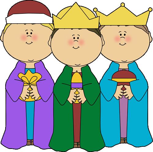 Three Wise Men Clip Art.