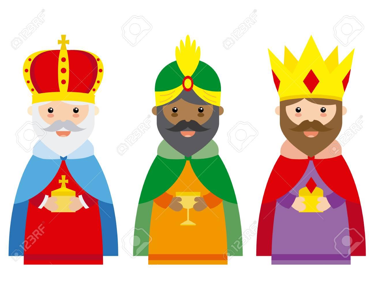 The three wise men of orient.