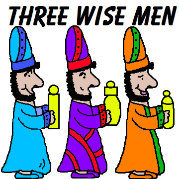 Wise Men Clipart.
