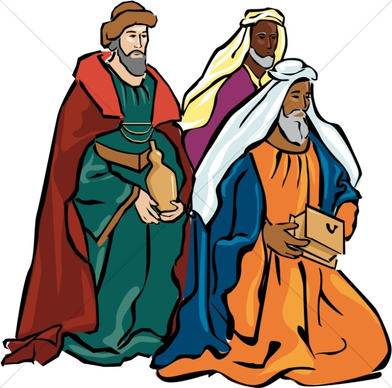 Wise Men Clip Art.