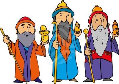 Wise Men Clip Art.