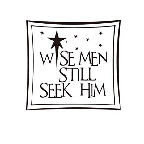 Amazon.com: VORCOOL Wise Men Still Seek Him Vinyl Wall.