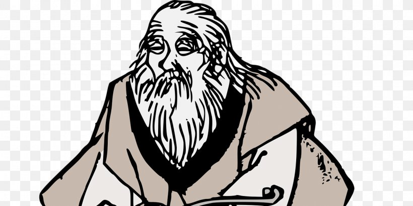 Wise Old Man Clip Art Wisdom Illustration, PNG, 1280x640px.