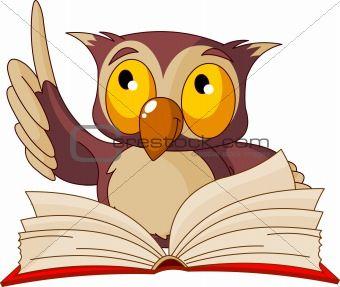 Animals Reading Books.