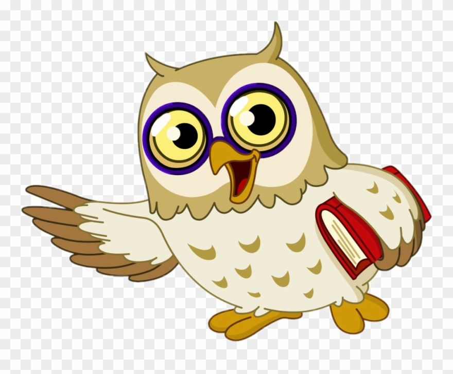 Download Free png Wise Owl Cartoon Clipart Owl Clip Art Cartoon Wise.