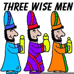 Wisemen Clipart.