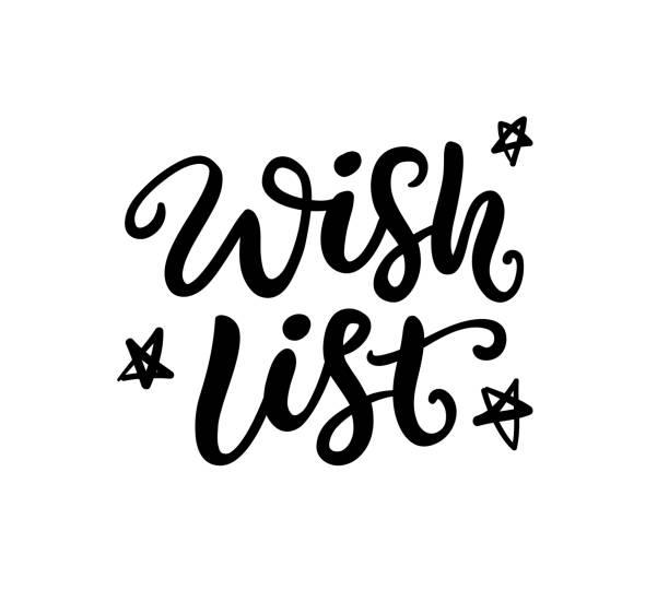 Best Wish List Illustrations, Royalty.