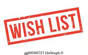 Wish List Clip Art.