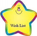 Wish List Clipart.