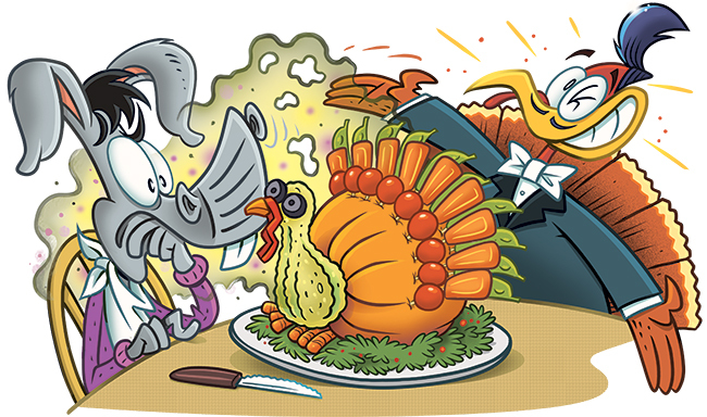 40 Funny Thanksgiving Day Jokes and Comics for Kids.