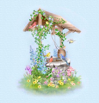 1000+ images about Wishing Well clipart on Pinterest.