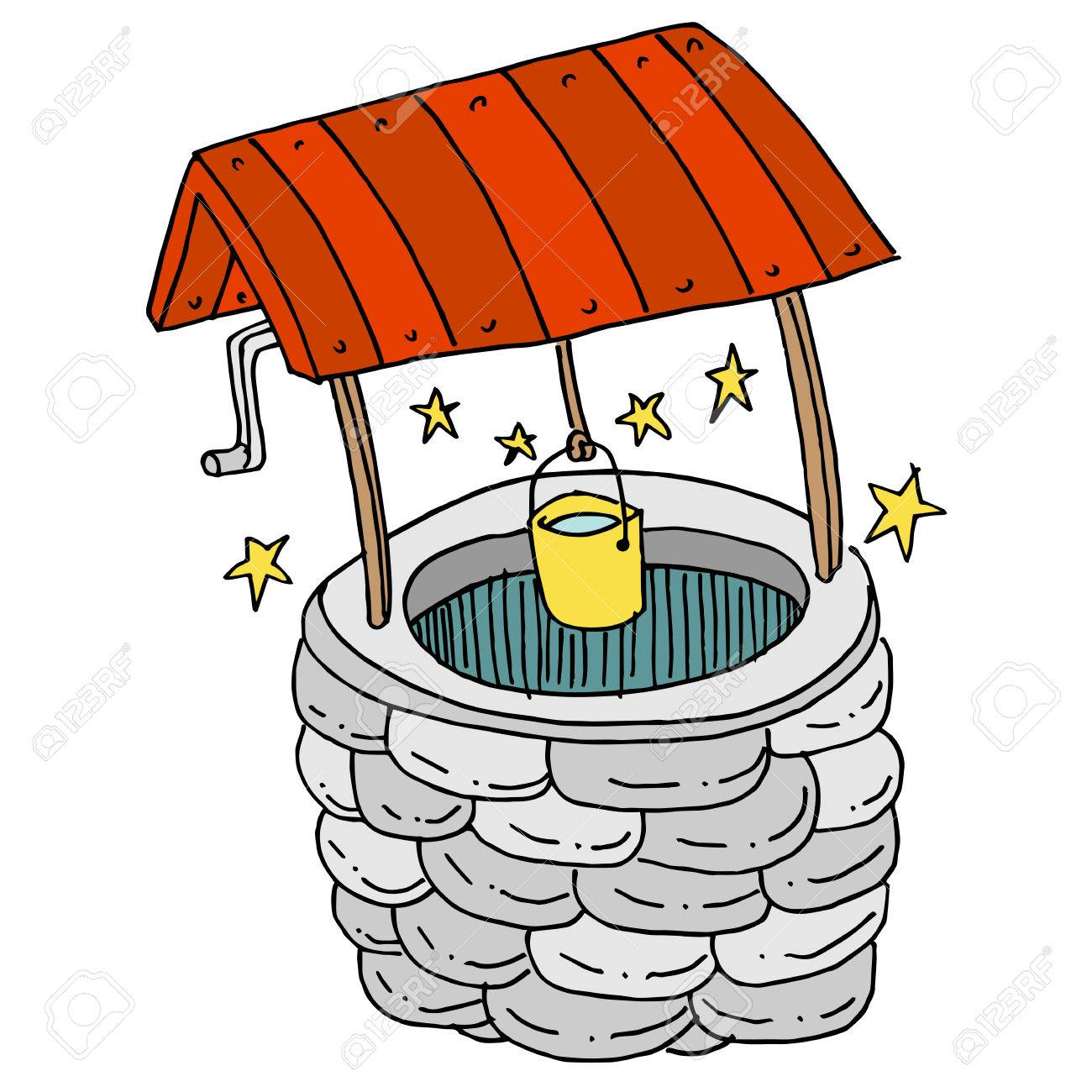 An image of a Lucky Wishing Well..