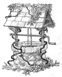 Free Clipart Wishing Well.