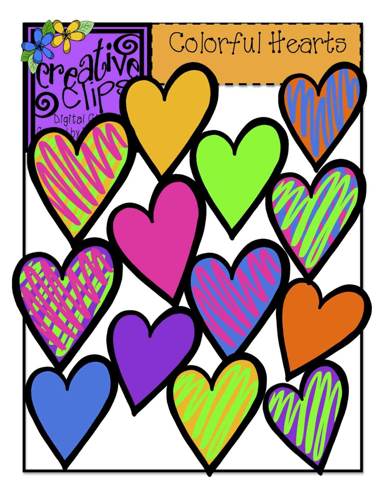 The Creative Chalkboard: You can have my heart {clipart} for.