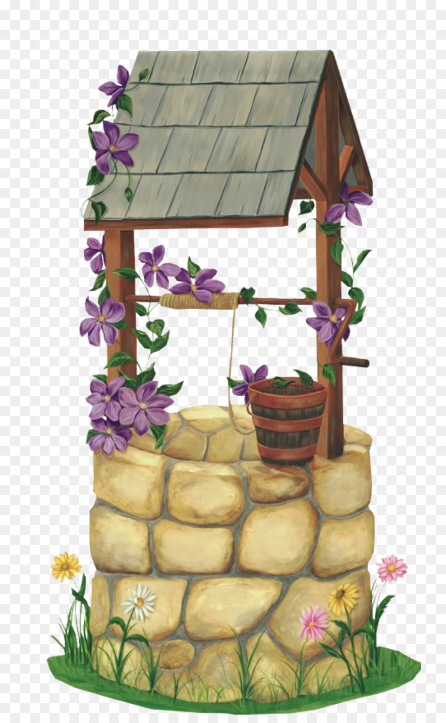 Wishing well clipart 7 » Clipart Station.