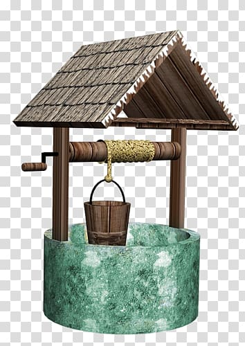 Water well Wishing well , others transparent background PNG clipart.