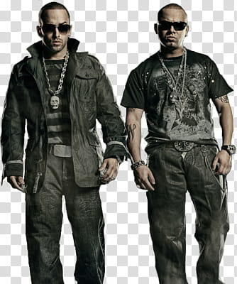 Wisin Y Yandel transparent background PNG clipart.