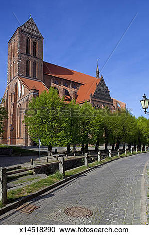 Stock Photography of Wismar x14518290.