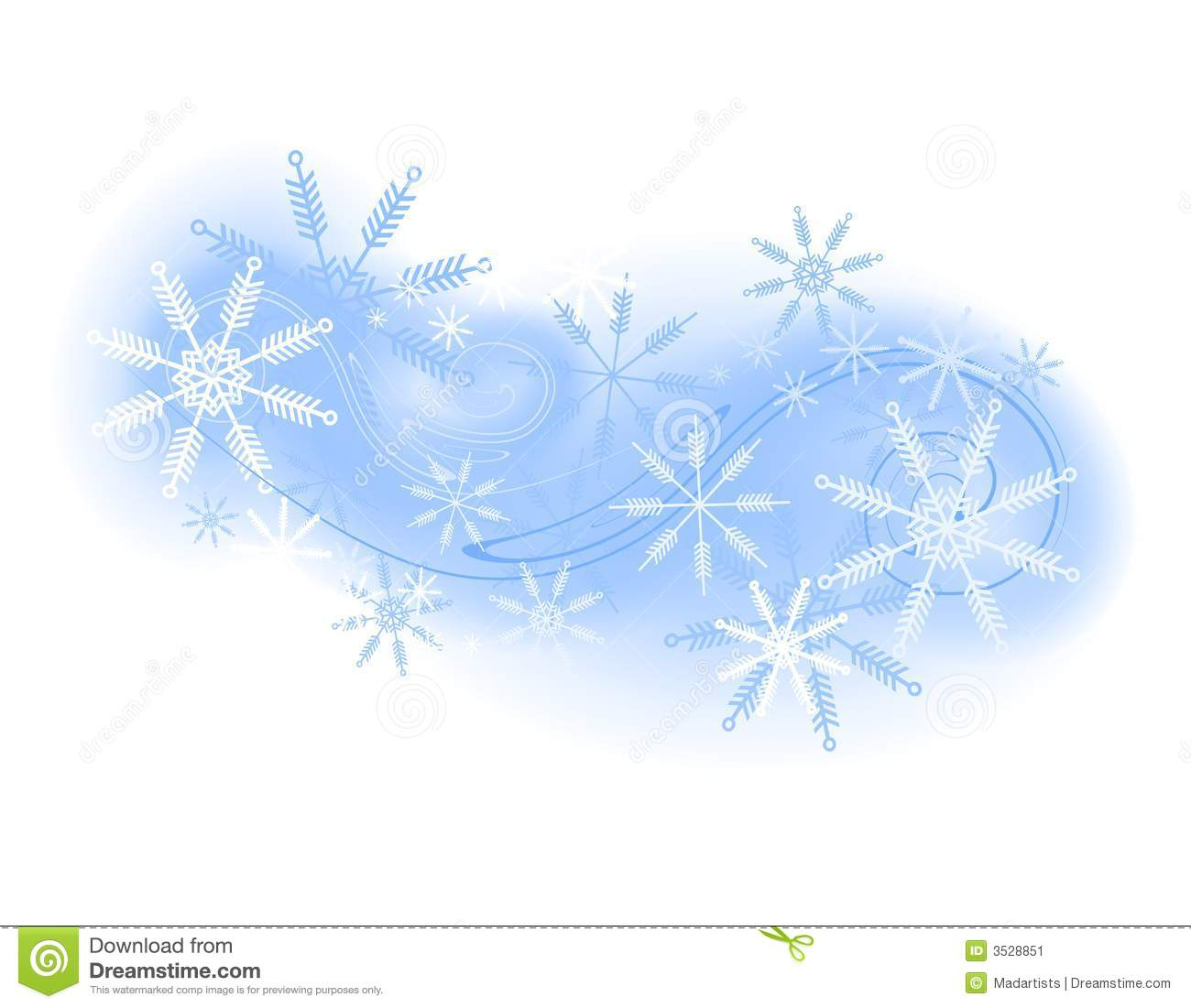 Winter Wind Clipart.