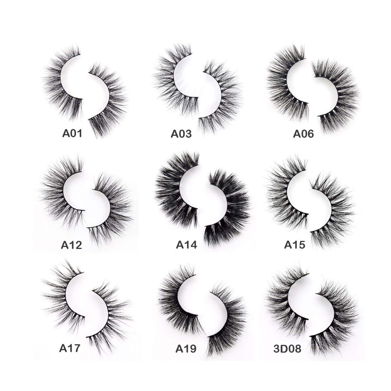Amazon.com : Eyelashes 3D Mink Eyelashes Crossing Mink.