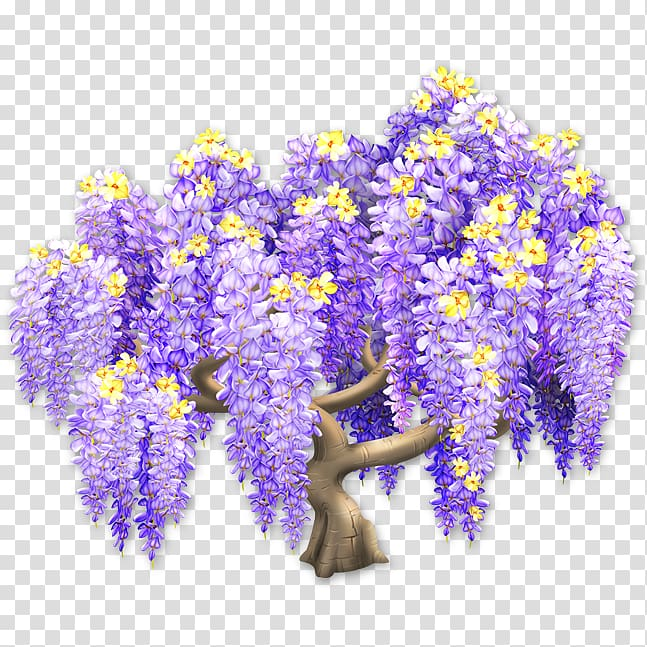 Hay Day Wiki English lavender Plant, wisteria transparent.