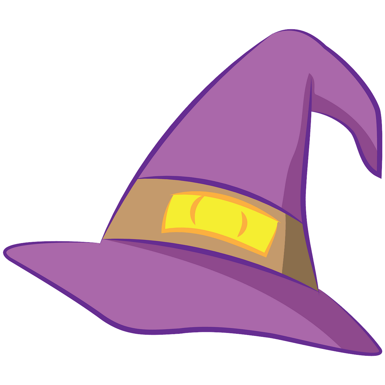 Witch hat clipart. Free download..