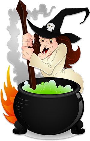 Free Witch Clipart.