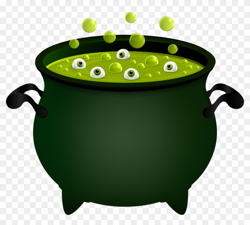 Witch Cauldron Png Clip Art Image, Transparent Png.