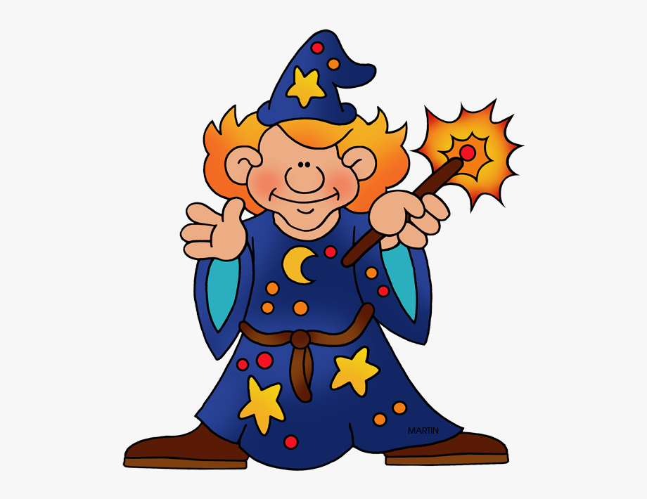 Wizard And Witch Clipart , Transparent Cartoon, Free.