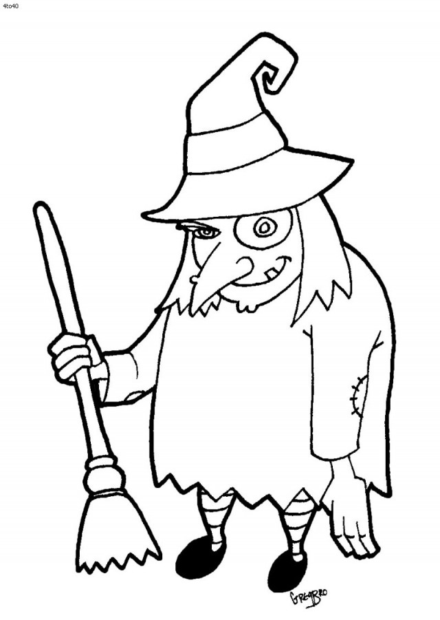 Free Witch Clipart Black And White, Download Free Clip Art.