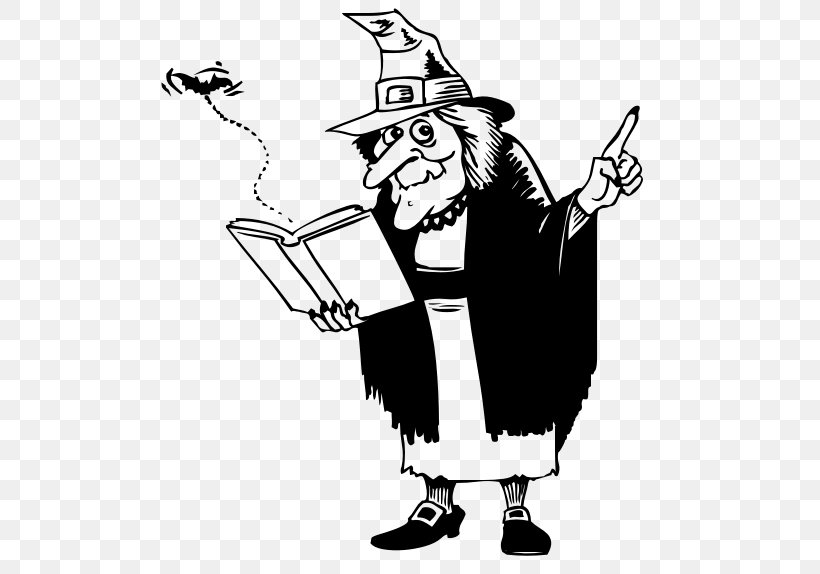 Book Witchcraft Reading Clip Art, PNG, 511x574px, Book, Art.