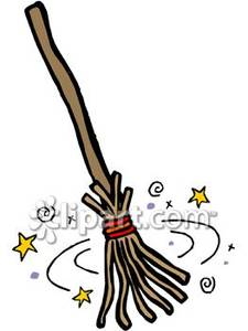 Witch Broom Clipart Free.