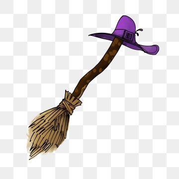 Witches Broom PNG Images.