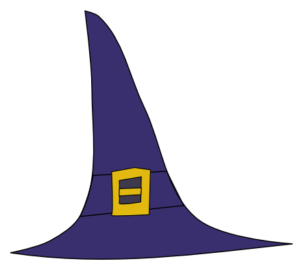 Witch Hat Clipart.