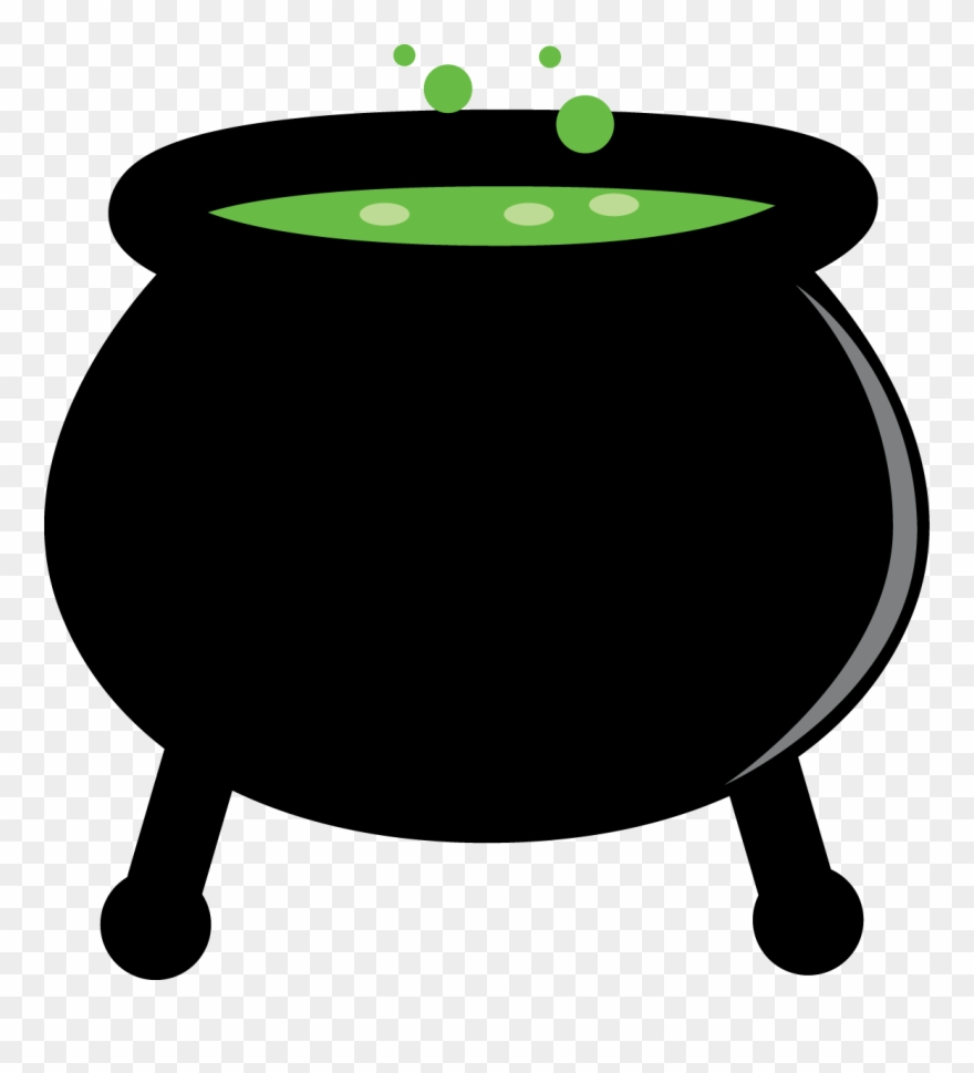Halloween Cauldrons Clipart Oh My Fiesta In English.