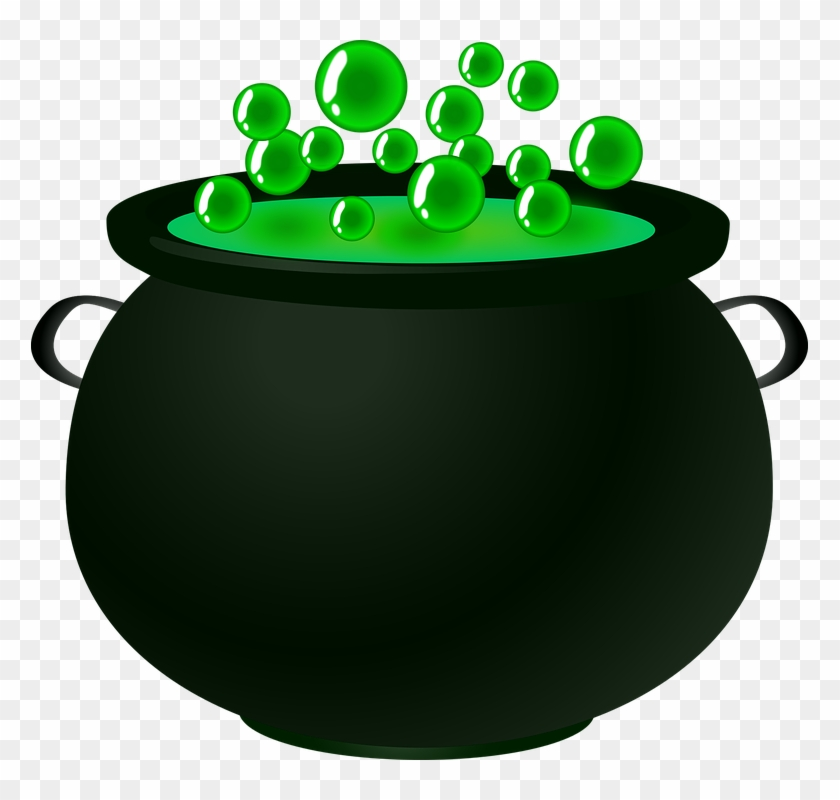 Bubble, Cauldron, Green, Magic, Potion, Spell, Witch.