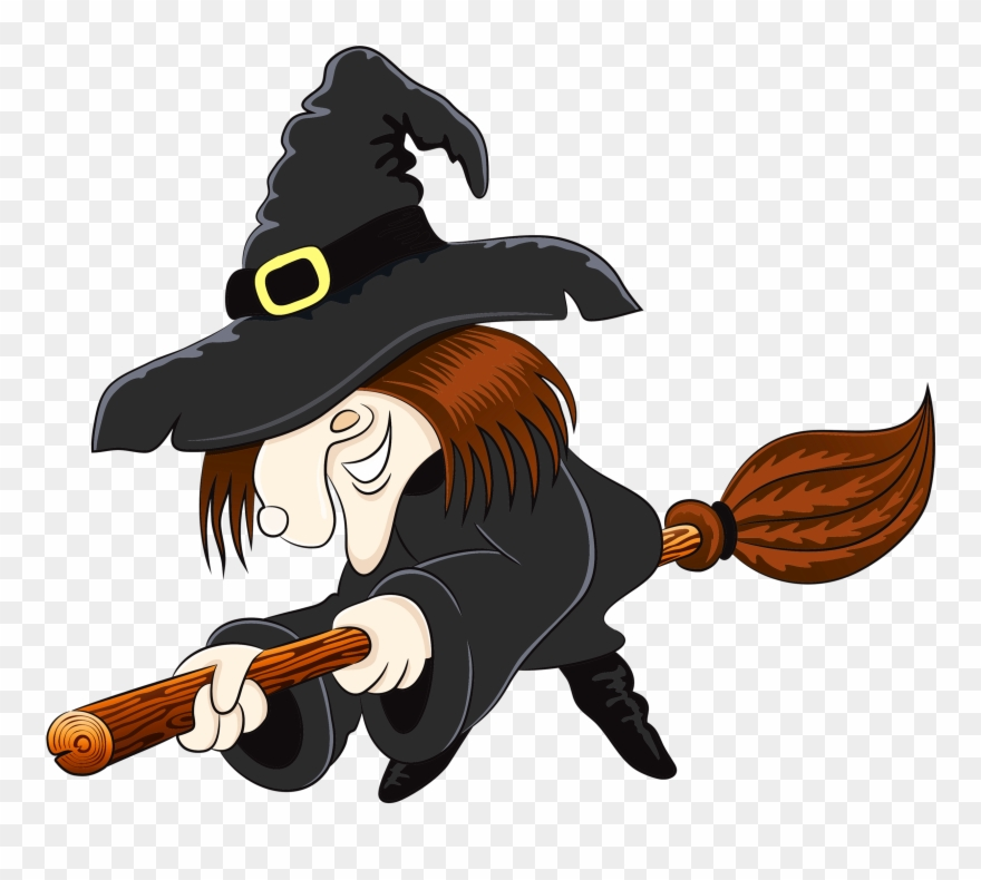 Halloween Witch Png Clipart.