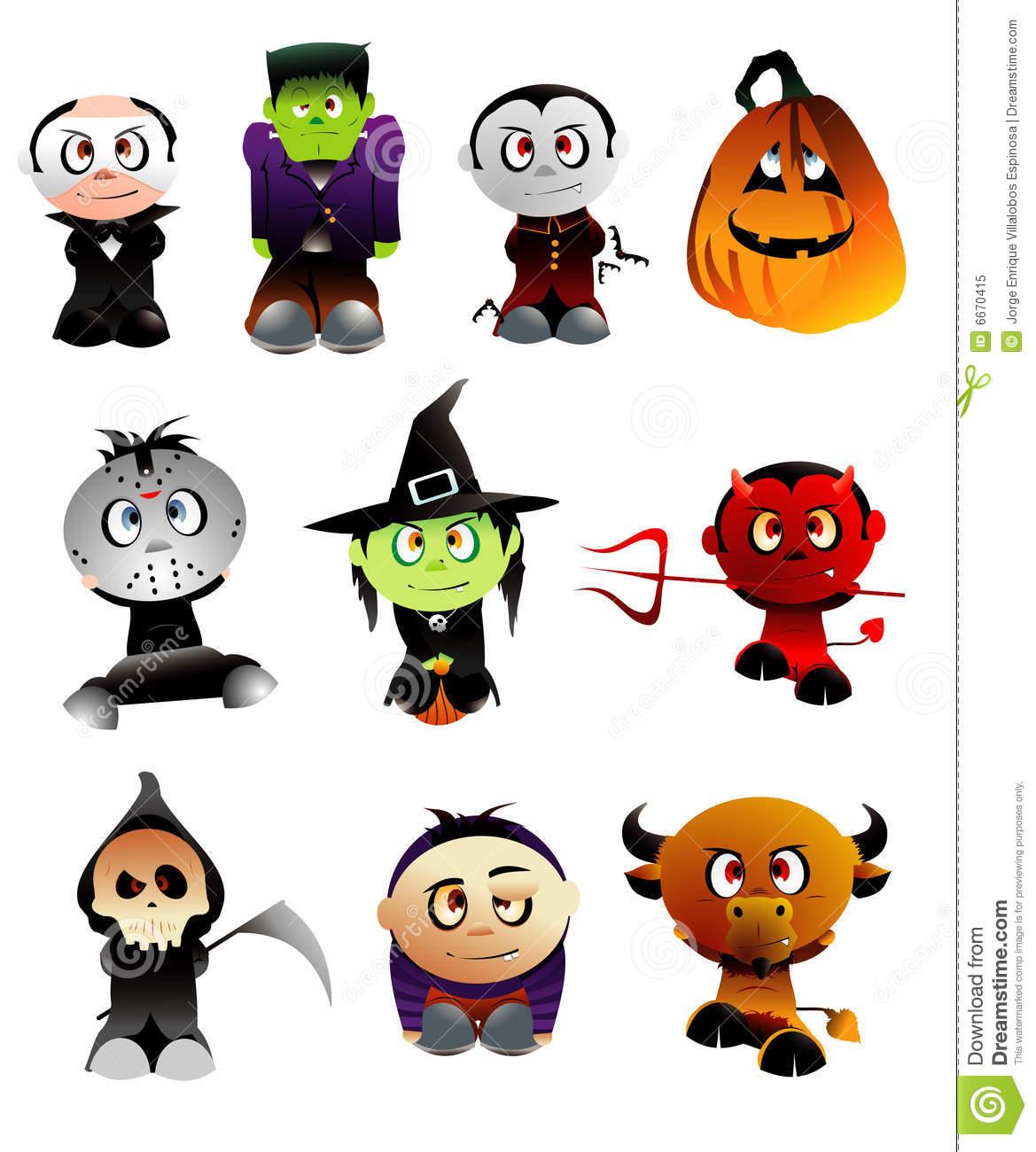 Free Vector Halloween Clipart.