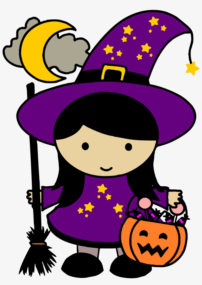 Halloween Witch Vector Free Png Image1.