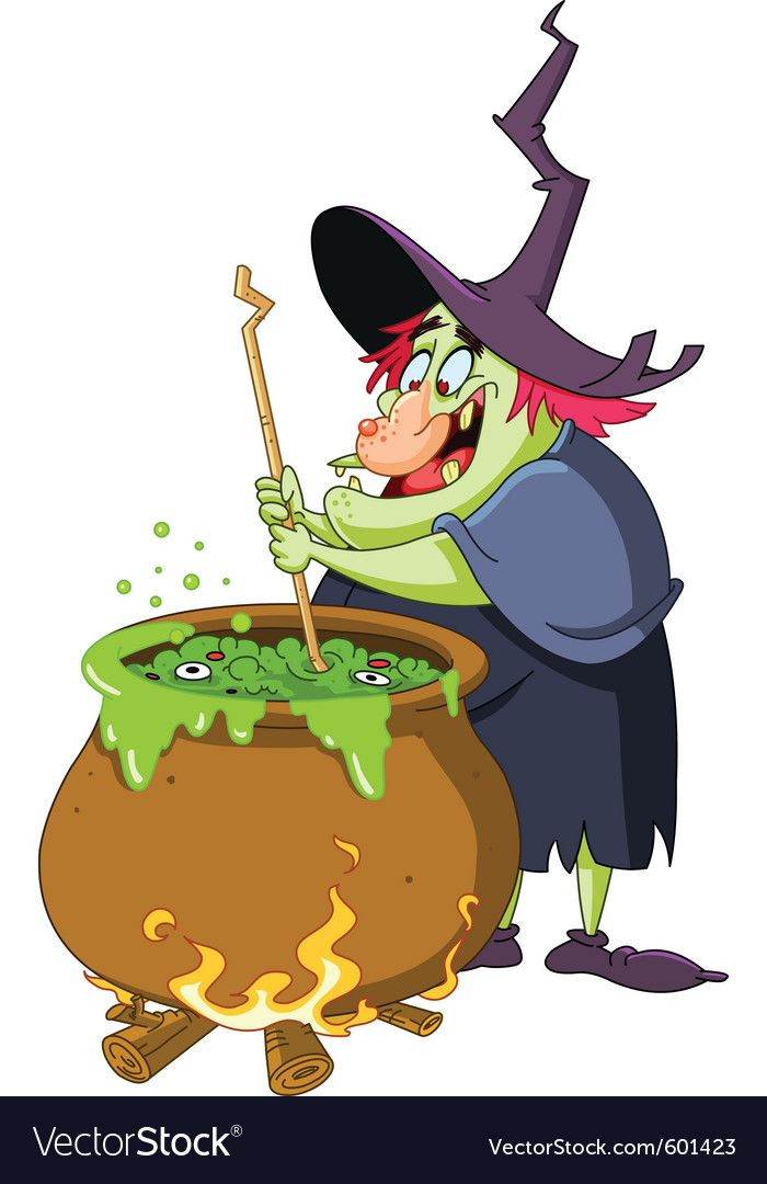 Witch brew Royalty Free Vector Image.