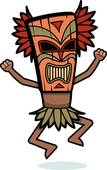 Witch Doctor Clip Art.