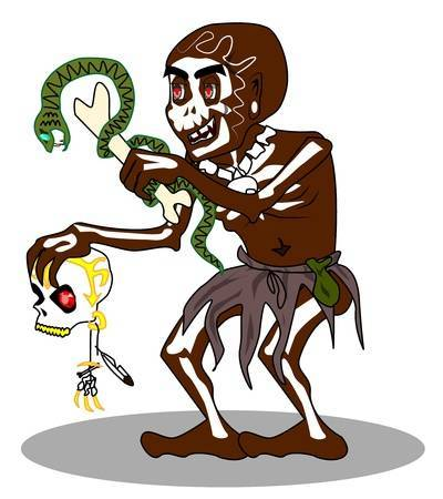 Witch doctor clipart » Clipart Portal.