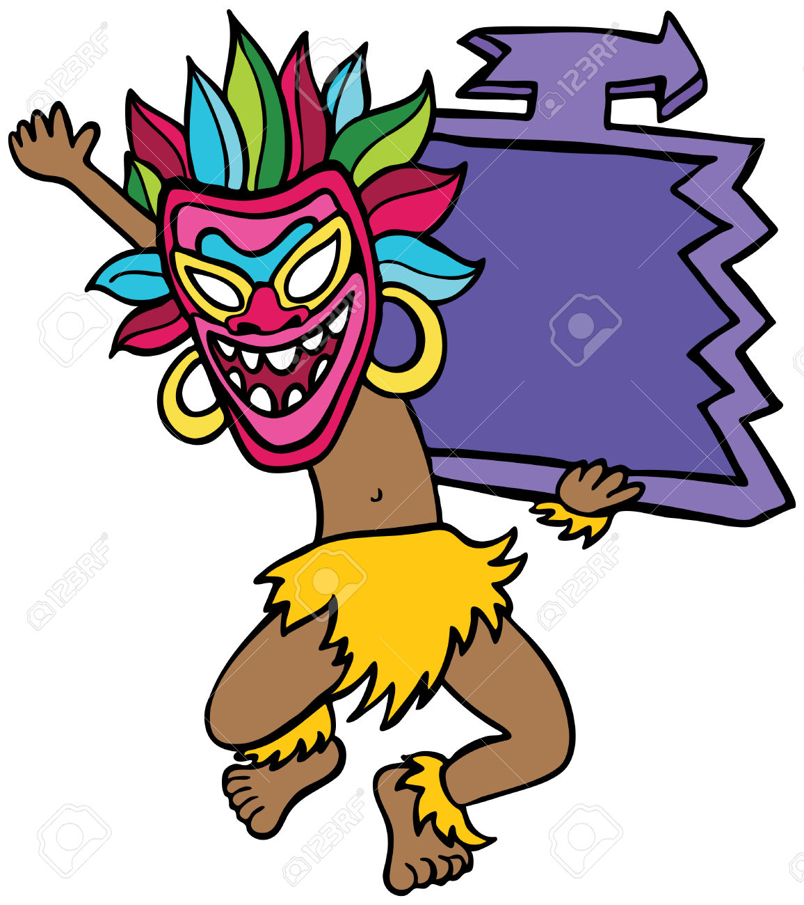 Witch Doctor Clipart.