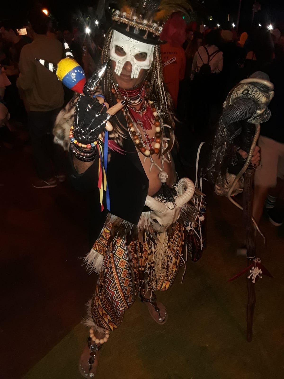 Voodoo Priest, Papa Legba, Witch Doctor, Halloween.